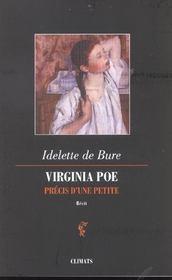 Virginia Poe ; Precis D'Une Petite - Intérieur - Format classique