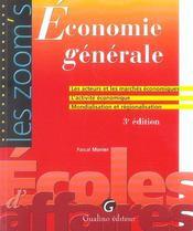 Économie générale - Intérieur - Format classique