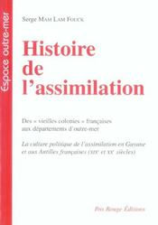 Histoire De L'Assimilation - Intérieur - Format classique
