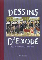 Dessins D Exode - Intérieur - Format classique