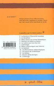 Electricite (l') - 4ème de couverture - Format classique