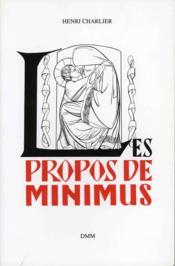 Propos de minimus t.2 - Couverture - Format classique