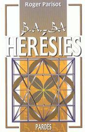 Herésies - Intérieur - Format classique