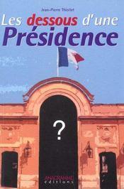 Les dessous d une presidence - Intérieur - Format classique