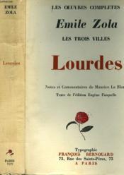 Les Trois Villes. Lourdes. - Couverture - Format classique