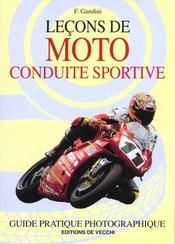Lecons De Moto Conduite Sportive - Intérieur - Format classique