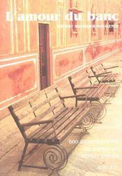L'amour du banc - Intérieur - Format classique