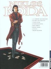 Niklos Koda t.6 ; magie noire - 4ème de couverture - Format classique