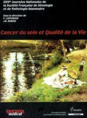 Cancer Du Sein Et Qualite De La Vie - Couverture - Format classique