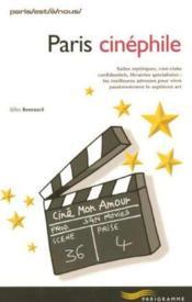 Paris Cinephile - Couverture - Format classique