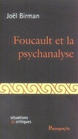 Foucault et la psychanalyse - Intérieur - Format classique