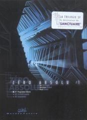 Zero absolu t.1 ; premier acte - Intérieur - Format classique