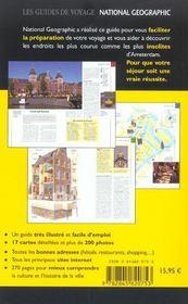 Amsterdam - 4ème de couverture - Format classique