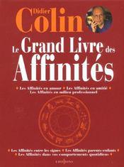 Le Grand Livre Des Affinites - Intérieur - Format classique