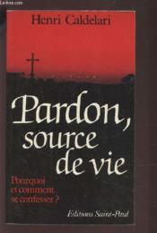 Pardon, Source De Vie - Couverture - Format classique