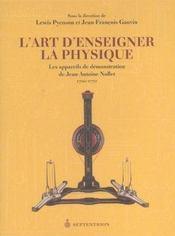 L Art D Enseigner La Physique Les Appareils De Demonstration De - Intérieur - Format classique
