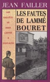 MARY LESTER T.24 ; les fautes de Lammé Bourret - Couverture - Format classique