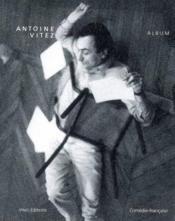 Antoine vitez. album - Couverture - Format classique