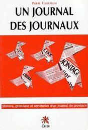 Un journal, des journaux : le journal la montagne et le groupe centre-france - Couverture - Format classique