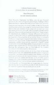 Henri duveyrier, un saint-simonien au désert - 4ème de couverture - Format classique