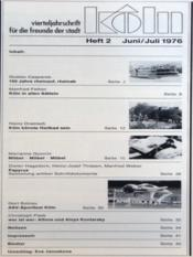 Koln N°2 du 01/06/1976 - Intérieur - Format classique