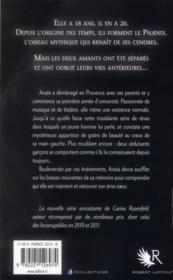 Phaenix t.1 ; les cendres de l'oubli - 4ème de couverture - Format classique