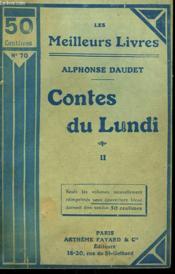 Contes Du Lundi. Tome 2. Collection : Les Meilleurs Livres N° 70. - Couverture - Format classique