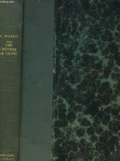 Les Lettres De Capri - Couverture - Format classique