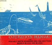 Operation Manual For Heathkit Depth Sounders And Fish Spotters Models Mi-1030 And Mi-2900 - Couverture - Format classique