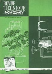 Revue Technique Automobile - N°244 - Couverture - Format classique