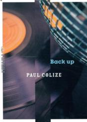 Vente  Back up  - Paul Colize