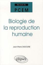 Biologie de la reproduction humaine - Intérieur - Format classique