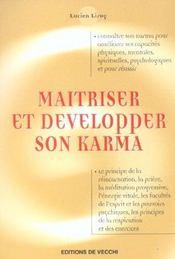 Maitriser Et Developper Son Karma - Intérieur - Format classique