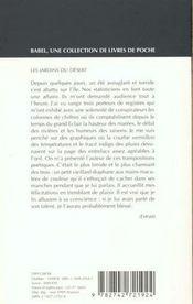 Jardins Du Desert - 4ème de couverture - Format classique