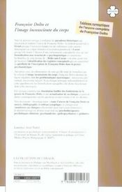 Francoise Dolto Et L'Image Inconsciente Du Corps - 4ème de couverture - Format classique