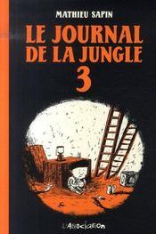 Le journal de la jungle t.3 - Intérieur - Format classique