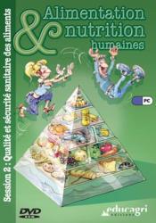 Qualité et sécurité sanitaire des aliments (session 2) - Couverture - Format classique