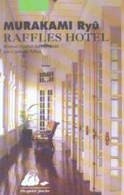 Raffles hotel - Couverture - Format classique