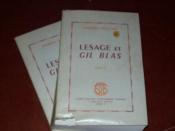 Lesage et Gil Blas - Couverture - Format classique