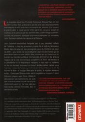 Scandale Dsk Le Proces Qui Aur - 4ème de couverture - Format classique