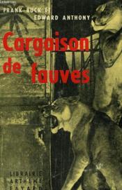 Cargaison De Fauves. - Couverture - Format classique