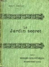 Le Jardin Secret. - Couverture - Format classique