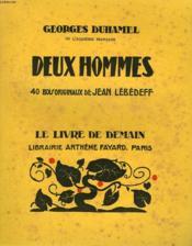 Deux Hommes. 40 Bois Originaux De Jean Lebedeff. Le Livre De Demain N° 124. - Couverture - Format classique