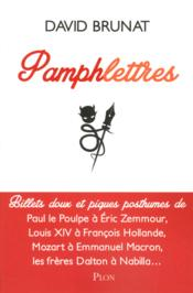 Vente livre :  Pamphlettres  - David Brunat