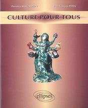Culture Pour Tous - Intérieur - Format classique
