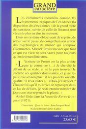 Du Cote De Guermantes T.2 - 4ème de couverture - Format classique