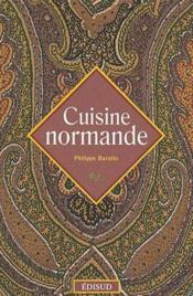 Cuisine Normande - Couverture - Format classique