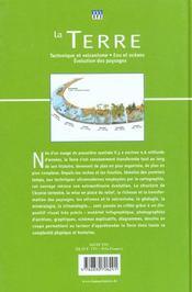 Terre (La) - 4ème de couverture - Format classique