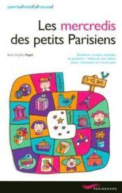 Les mercredis des petits parisiens - Couverture - Format classique