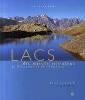 Lacs des massifs cristallins du Mercantour et de l'Argentera - Intérieur - Format classique
